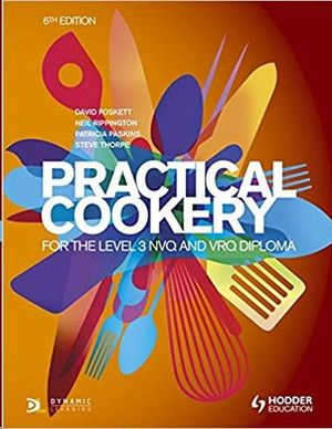 PRACTICAL COOKERY FOR LEVEL 3 6TH ED