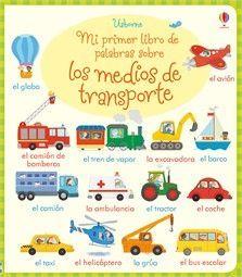 MEDIOS DE TRANSPORTE MI PRIMER LIBRO PAL