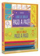 KIT LIBRO DE DIBUJO PASO A PASO