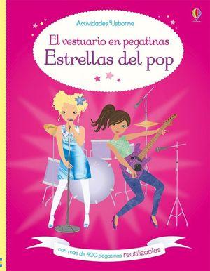 EL VESTUARIO EN PEGATINAS. ESTRELLAS DEL POP