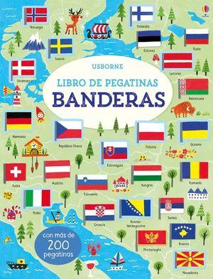 BANDERAS. LIBRO DE PEGATINAS