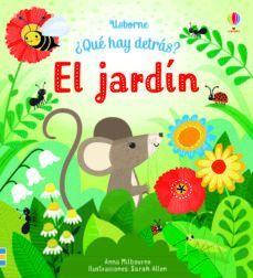 ¿QUÉ HAY DETRÁS? EL JARDIN