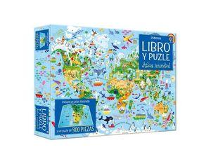 ATLAS MUNDIAL: LIBRO Y PUZLE