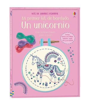 MI PRIMER KIT DE BORDADO. UN UNICORNIO