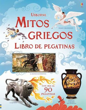 MITOS GRIEGOS: LIBRO DE PEGATINAS