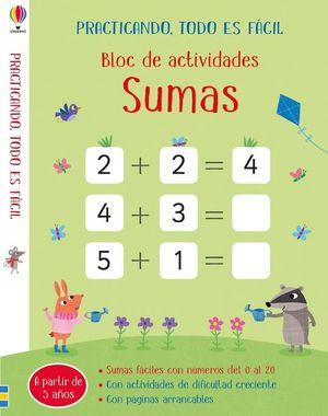 BLOC DE ACTIVIDADES SUMAS