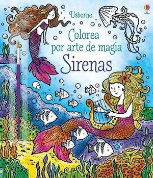 COLOREA POR ARTE DE MAGIA: SIRENAS