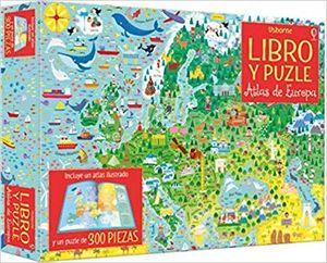 ATLAS DE EUROPA (LIBRO Y PUZLE)