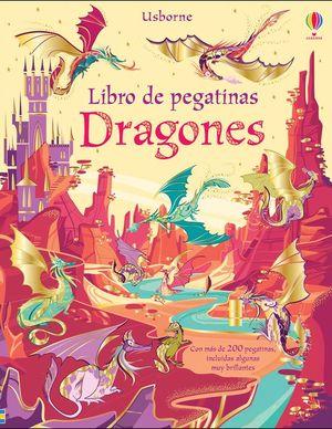 LIBRO DE PEGATINAS: DRAGONES