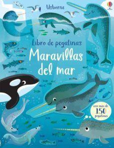 MARAVILLAS DEL MAR. LIBRO DE PEGATINAS