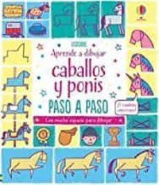 APRENDE A DIBUJAR: CABALLOS Y PONIS. PASO A PASO