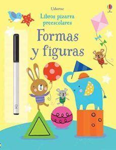FORMAS Y FIGURAS. LIBROS PIZARRA PREESCOLARES