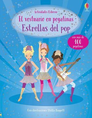 EL VESTURIO EN PEGATINAS. ESTRELLAS DEL POP
