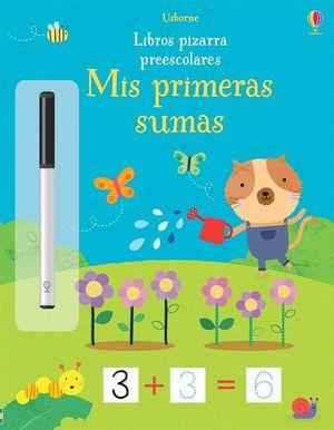LIBROS PIZARRA PREESCOLARES. MIS PRIMERAS SUMAS