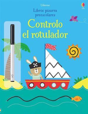 LIBROS PIZARRA PREESCOLARES. CONTROLO EL ROTULADOR
