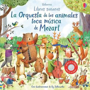 LA ORQUESTRA DE LOS ANIMALES TOCA MUSICA DE MOZART