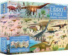 LIBRO Y PUZLE: DINOSAURIOS. LINEA DEL TIEMPO