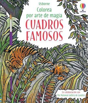 COLOREA POR ARTE DE MAGIA: CUADROS FAMOSOS