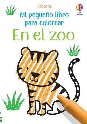 MI PEQUEÑO LIBRO PARA COLOREAR: EN EL ZOO