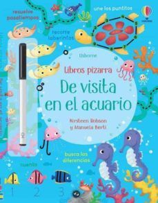 DE VISITA EN EL ACUARIO (LIBROS PIZARRA)