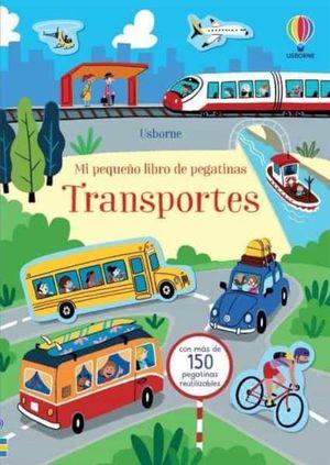 MI PEQUEÑO LIBRO PEGATINAS: TRANSPORTES