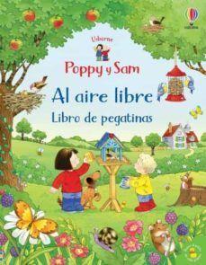 POPPY Y SAM AL AIRE LIBRE. LIBRO DE PEGATINAS