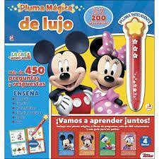 PLUMA MAGICA DE LUJO LA CASA DE MICKEY MOUSE
