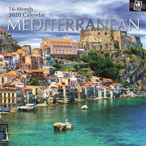CALENDAR MEDITERRANEAN 2020 (16 MONTH)