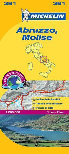 MAPA LOCAL 361 ITALIA: ABRUZZO, MOLISE