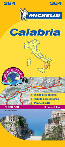 MAPA LOCAL 364 ITALIA: CALABRIA