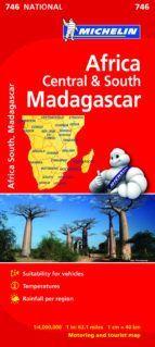 MAPA NATIONAL 746 ÁFRICA CENTRO-SUR, MADAGASCAR