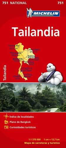 MAPA NATIONAL 751 TAILANDIA