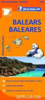 MAPA REGIONAL BALEARS / BALEARES