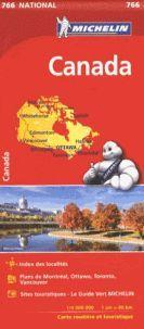 MAPA NATIONAL 766 CANADA