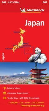 MAPA NATIONAL 802 JAPON