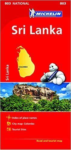 MAPA NATIONAL 803 SRI LANKA