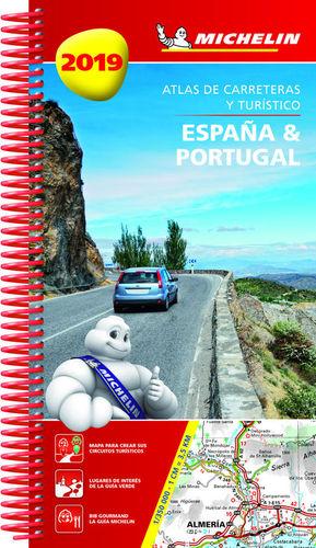 ATLAS DE CARRETERAS ESPAÑA Y PORTUGAL 2019