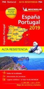MAPA NATIONAL 794 ESPAÑA - PORTUGAL ALTA RESISTENCIA 2019