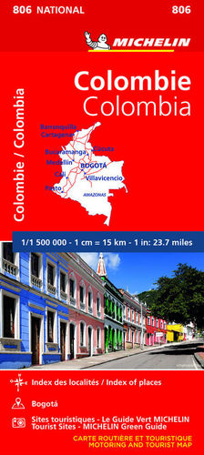 MAPA NATIONAL 806 COLOMBIA