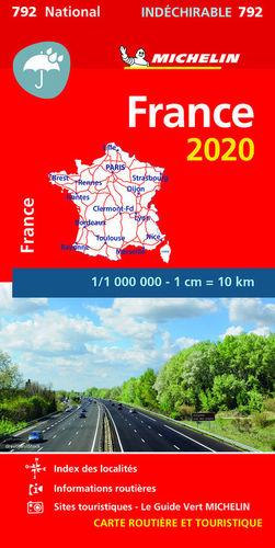 MAPA NATIONAL 792 FRANCE ALTA RESISTENCIA