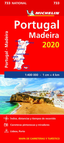 MAPA NATIONAL 733 PORTUGAL MADEIRA 2020