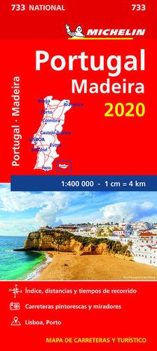 MAPA NATIONAL 733 PORTUGAL MADEIRA 2020