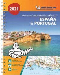 ATLAS DE CARRETERAS Y TURISTICO ESPAÑA & PORTUGAL 2021 (A4)