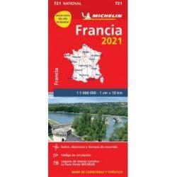 MAPA NATIONAL 721 FRANCIA 2021