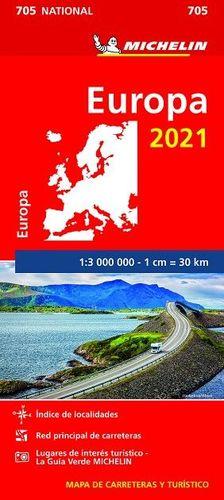 MAPA NATIONAL 705 EUROPA 2021