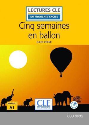 CINQ SEMAINES EN BALLON (LIVRE+CD - NIVEAU 1/A1 )