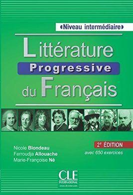 LITTÉRATURE PROGRESSIVE DU FRANÇAIS - NIVEAU INTERMÉDIAIRE - 2ª EDITIÓN LIVRE+CD