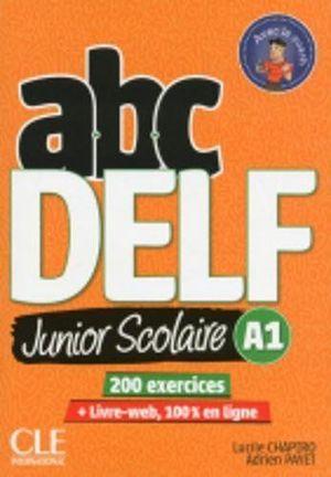 ABC DELF JUNIOR SCOLAIRE A1 + DVD + LIVRE WEB
