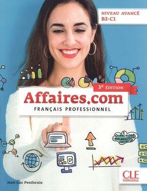 AFFAIRES.COM NIVEAU AVANCÉ B2-C1 3º EDITION - LIVRE+CD