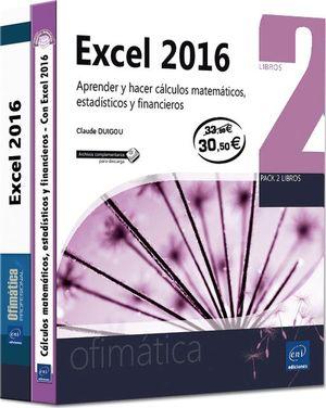EXCEL 2016 (2 VOLS)